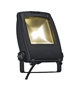 LED Floodlight 30W 3200K° matt-svart