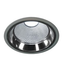 LED Downlight Pro R 4000K silver-grå