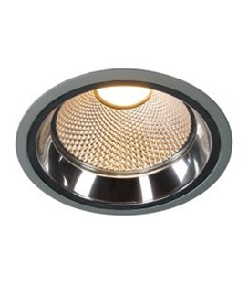 LED Downlight Pro R 2700K silver-grå