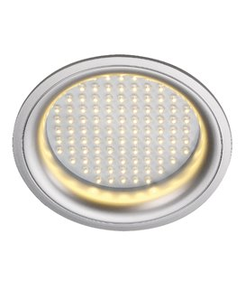 More about Ledpanel Round Silver-grå, varmvita LED