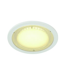Eco LED Round vit