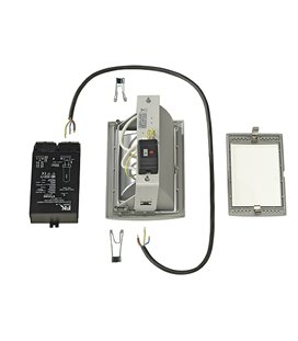 More about HQI-TS Downlight kit DL 150W, silver-grå
