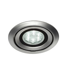 Luzo Integrated LED 4000K matt-krom