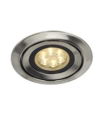 Luzo Integrated LED 2700K borstad-metall