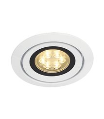 Luzo Integrated LED 2700K vit