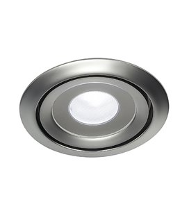 Luzo LED Disk 4000K matt-krom