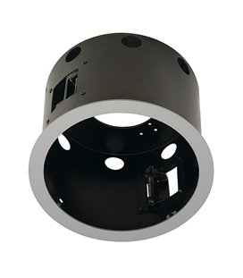 More about Aixlight Pro I Flat Frame Round, Silver-grå