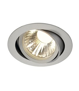 New Tria LED Disk 2700K silver-grå, 60°