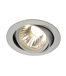 New Tria LED Disk 2700K silver-grå, 35°