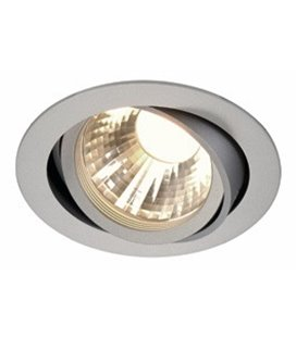 New Tria LED Disk 4000K silver-grå, 60°