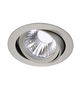 New Tria LED Disk 4000K silver-grå, 35°