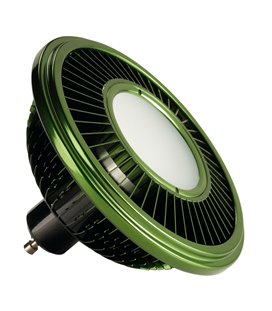 More about LED ES111 17,5W (dimbar) 2700K 140° Grön