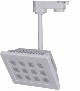 More about Spotlight för 3-fas skena, 24W LED, 1700lm, 30 grader, vit