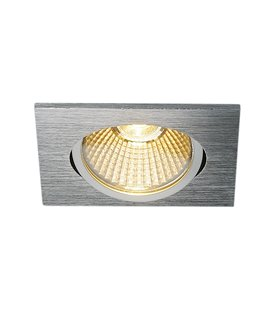 New Tria 68 Led DL Square Borstad alu. 3000K