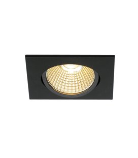 New Tria 68 Led DL Square Svart 3000K