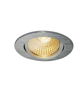 New Tria 68 Led DL Round Borstad alu. 3000K