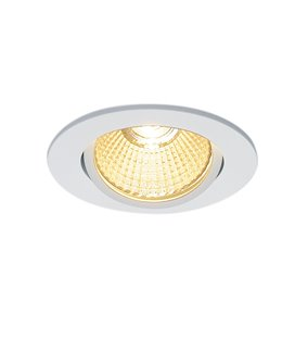 New Tria 68 Led DL Round Vit 3000K