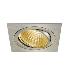 New Tria LED DL Square Borstad alu. 2700K