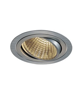 New Tria LED DL Round Borstad alu. 3000K