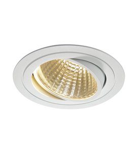 New Tria LED DL Round Vit 3000K