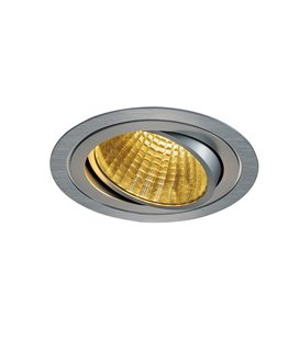 New Tria LED DL Round Borstad alu. 2700K
