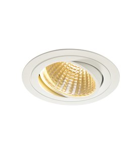 New Tria LED DL Round Vit 2700K