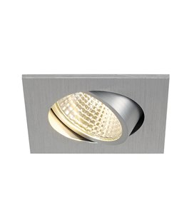New Tria LED DL Square borstad aluminium