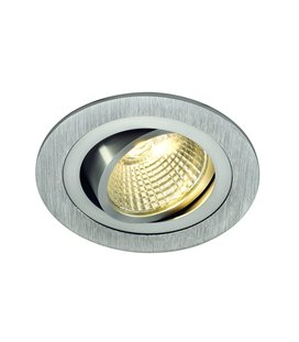 New Tria LED DL Round 6W silver-grå