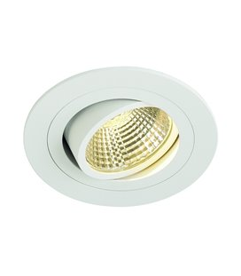 New Tria LED DL Round 6W vit 300K