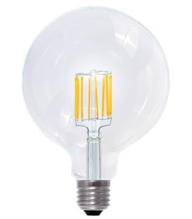 More about E27 LED Vintage Style, Globe 125 6W klar (dimbar)