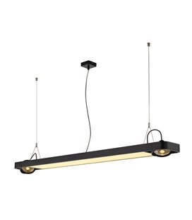 AIXLIGHT R2 OFFICE Svart 153cm