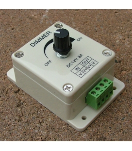 More about LED-dimmer, PWM, med vridreglage, 12V