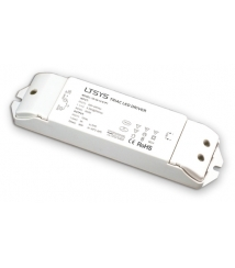 LED-driver 12VDC/36W med push-funktion, dimbar