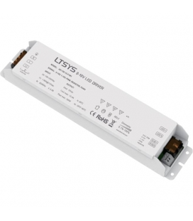 12V LED driver, transformator med push funktion 150W