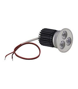 More about LED MR16 Insats 3x 3W MR16 LED 3x3W, 700mA, warm white LED, 15°